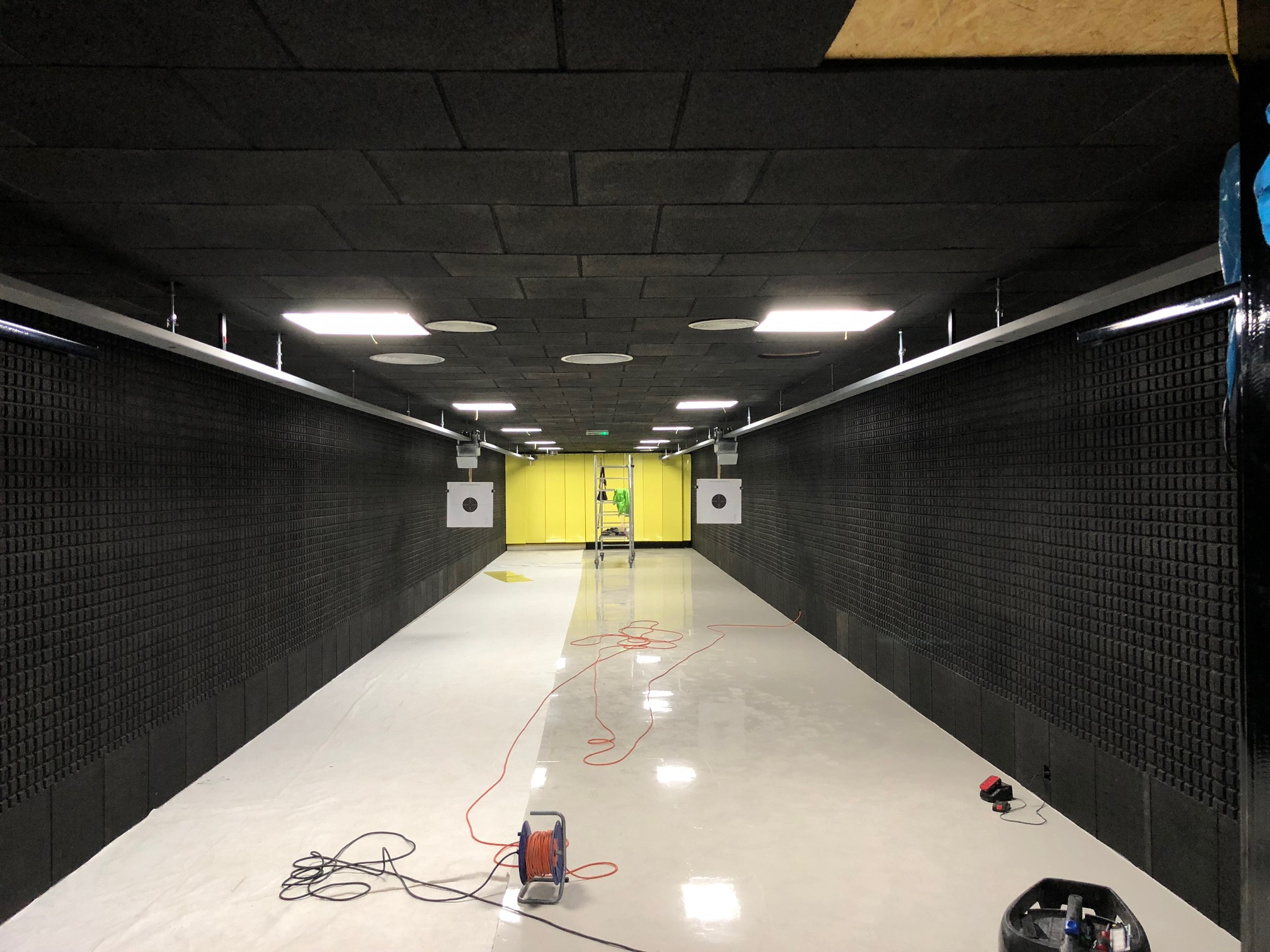 A new test shooting range is being built in the ANTREG premises